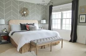 how to make the most of a small bedroom modern window treatment