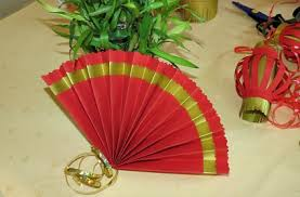 how to make a fan how to make paper fans