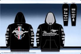 ford mustang jacket ford mustang collage mens embroidered black zip hoodie by jh design