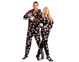 sushi printed footed pajamas worlds best pajamas