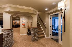 house plans with finished walkout basements vibrant idea finished walkout basement ideas designs of well walk