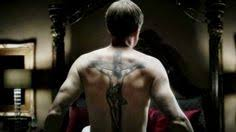 banshee kai proctor played by ulrich tomsen back tattoo small