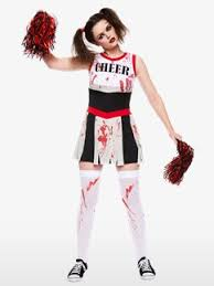 Womens Cheerleader Halloween Costume Women U0027s Halloween Costumes Party Delights