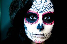 Sugar Skull Halloween Makeup Tutorial by Halloween Sugar Skull Makeup Youtube