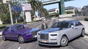 roll royce grey vehicle wip pre release rolls royce phantom viii 2018 gta5