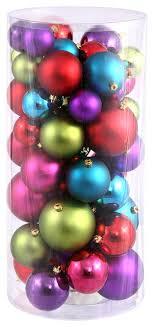 1 5 2 mu lighting balls shiny and matte set of 50 multi