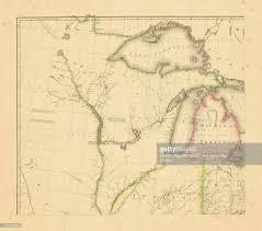 america map ohio america wisconsin ohio michigan indiana illinois 1812 great