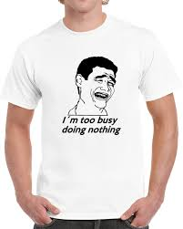 Lol Guy Meme - doing nothing lol guy rage face meme comic t shirt