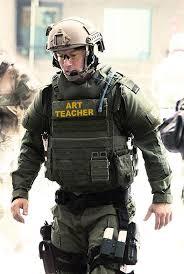 Swat Meme - art teacher reporting for duty sir school shooter memes know