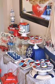 anchor theme baby shower nautical party by get creative juice lots of pretty ideas for