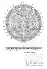 aztec calendar symbol meanings u2013 blank calendar 2017