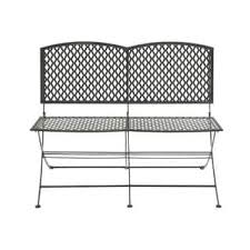 White Metal Outdoor Bench Assembled Outdoor Benches Shop The Best Deals For Nov 2017