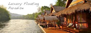 hotels river top 5 kanchanaburi hotels at river kwai floatel