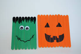 Halloween Decor Crafts Halloween Decor Kid U0027s Popsicle Stick Crafts Surviving A