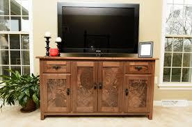 custom walnut console media cabinet by ds design custommade com