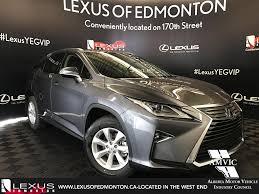 lexus of canada new 2017 lexus nx 200t 4 door sport utility in edmonton ab l13343