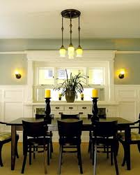 Green Dining Rooms Green Wall Color With White Wooden Cabinet For Excellent