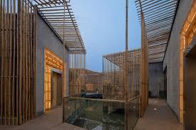 comfortable bamboo courtyard house keribrownhomes