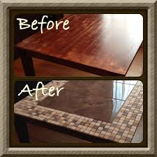 tile table top makeover tile table top ideas tile designs