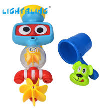 popular baby shower bath cup buy cheap baby shower bath cup lots lightaling bath toy baby cute caroon turn around shower dog water cup animal kids toy gift