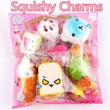 3d kawaii squishy charm bread cake rilakkuma donut cute phone