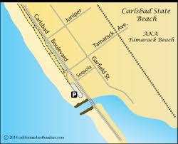 california map carlsbad carlsbad beaches california s best beaches