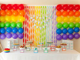 Rainbow Themed Birthday Favors by 10 Real For Boys Spaceships And Laser Beams