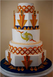 cup a dee cakes blog art deco wedding cake