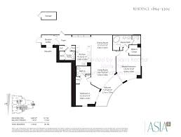 600 Sf House Plans Asia Condo Brickell Key 900 Brickell Key Blvd Miami Fl 33131