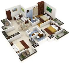 home plan 3d home plans ideas the architectural digest