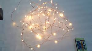 innoo tech led starry string lights review innoolight youtube
