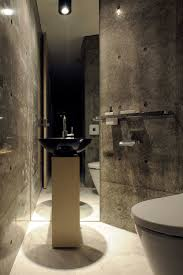Black And Silver Bathroom T House Industrious Residence In Playful Appearance By Atelier