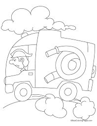 fire engine speed coloring pages download free fire engine