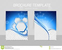 technical brochure template flyer template design stock vector illustration of corporate