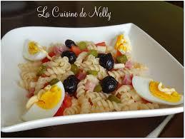 la cuisine de nelly salade de pâtes toute simple la cuisine de nelly