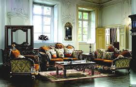 Set Living Room Furniture Leather Fabric Traditional Sofa Set Formal Living Room Furniture