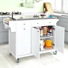 Stainless Steel Kitchen Island Table Stainless Steel Kitchen Island Table Kitchen White And Silver