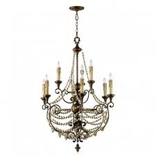 Two Golden Rings Bead Chandelier Wood Bead Chandelier Contemporary Dining Room With Round Style