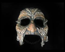 jeepers creepers mask calaca mask etsy