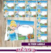 cinderella favor tags cinderella birthday diy cinderella