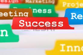 bureau registre des entreprises croissance avec succès ou la réussite texte concept de bureau d