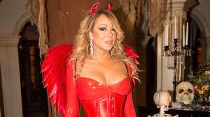 devil spirit halloween mariah carey dresses up as devil for annual halloween party