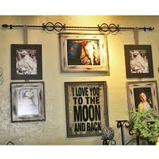 hanging picture frames ideas 41 best frame rod images on pinterest home ideas decorating ideas