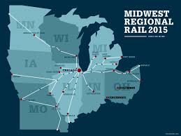 Quad Cities Map Midwest Passenger Rail Plan Advances News Planetizen