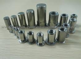 Stainless Steel Blind Rivets Stainless Steel Metric Blind Rivet Nut Insert Nut Application