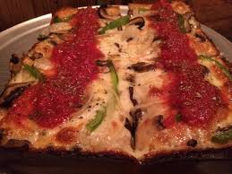 detroit style pizza via 313 in texas i dream of pizza