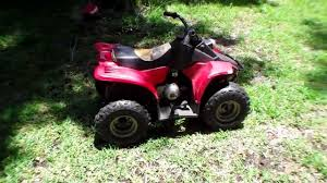 push start without battery 50cc atv youtube