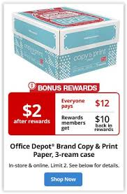 weekly deals in stores now office depot weekly deals coupon addict for life