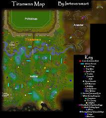 Oldschool Runescape World Map by Tirannwn Map Runescape Guide Runehq