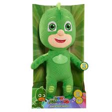 pj masks sing talk plush u2013 gekko play toys kids